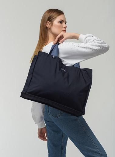 Cache The Bag Santi -1003(Inside-Out, Çift Taraflı) Lacivert